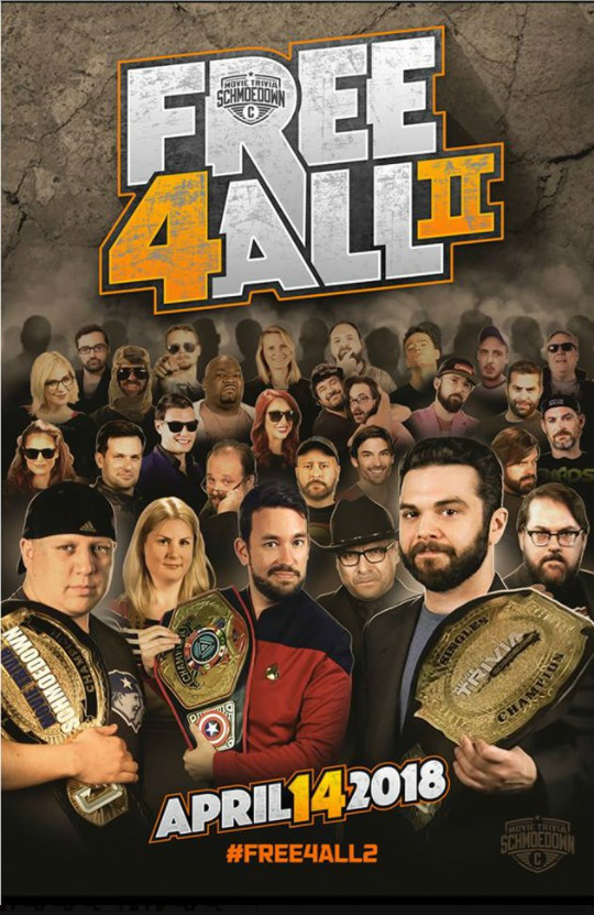 Free 4 All Poster